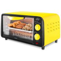 北欧欧慕(nathome)NKX0811 精巧全功能豪华型烤箱 单台 黄色