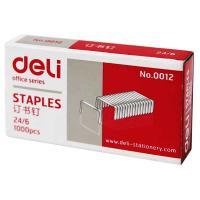 得力(deli)0012 高强度订书钉12# 1000枚/盒 10盒装