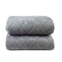 南极人(Nanjiren) 双人电热毯 加厚智能调温定时 法兰绒 180*150cm 单条