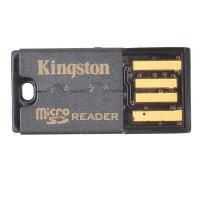 金士顿(Kingston)USB 2.0 TF(Micro SD)读卡器(FCR-MRG2) 单个