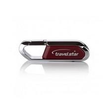 旅之星(Travelstar)名仕 高速usb3.0 商務加密u盤 64G