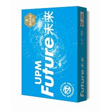 UPM 蓝未来 A4 80g 高白复印纸 5包/箱 整箱价
