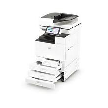 理光(Ricoh)IMC2000 A3彩色激光数码复合机 智能触摸屏 含输稿器(双面网络打印 彩色复印 彩色扫描)