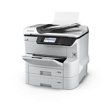 爱普生(Epson)WF-C8690a 商用墨仓式复合机 四合一 含输稿器 彩色触摸屏
