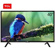 TCL Y40F1B 40英寸LED液晶電視機 不支持網絡連接 1920*1080分辨率 LED顯示屏 二級能效 一年保修 黑色