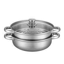 LUVHOO LH-TG05 烹饪锅具 沁香双层不锈钢蒸锅 单套