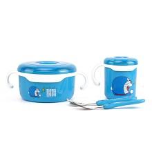 哆啦A梦DM-2643 餐具四件套 单套 蓝色