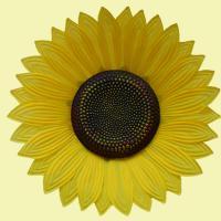 国艺 仿真道具太阳花 双层30厘米