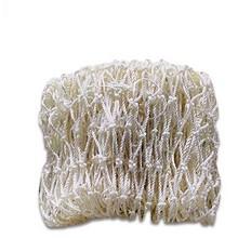 安赛瑞 12530 尼龙绳安全网 网孔5cm 建筑安全网 防坠落网 阳台防坠落网 安全防护网 Φ5mm 3×2m 一捆 白色