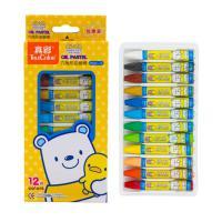 真彩(TrueColor)2966A-12 挂装酷丫油画棒 12色 单盒装
