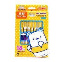 真彩(TrueColor)2966A-18 挂装酷丫油画棒 18色 单盒装