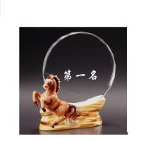 雨欣 陶瓷水晶奖杯 马到成功款 190*185cm
