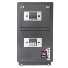 得力(deli)3616 双门电子密码防盗保险柜 灰色