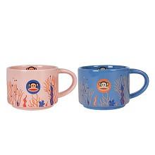 大嘴猴(paul frank)PFC508T 马克杯对杯套装 300ml 单套装 颜色随机