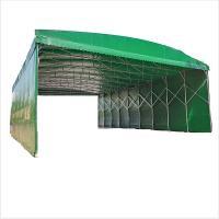 尤克达蒂(yookdd)遮阳遮雨棚 可收缩推拉含围布 尺寸4*3.5*2.5