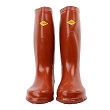 双安 BX252  25KV长筒绝缘靴 橡胶雨靴 36CM高防滑电工雨鞋 46码 双 黑色