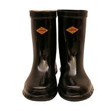 双安 BX301  高压30KV绝缘靴 电工靴 耐磨防滑橡胶雨靴 38码 双 黑色