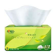 心相印(Mind Act Upon Mind)ADA00743(DT15130) 抽纸茶语丝享S码3层130抽24包整箱