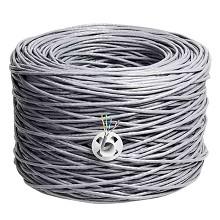 丽贴 LN-WX15-03 网线 超五类双绞网线 0.49mm高纯度无氧铜线芯 300m/箱 单箱 灰色