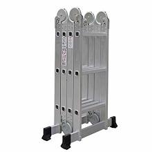 理联 LN-ZD44 梯子 多功能铝合金折叠梯 直梯4.7m、人字2.3m 单把