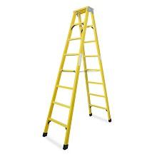 理联 LN-JR40 梯子 玻璃钢绝缘人字梯4米 单把