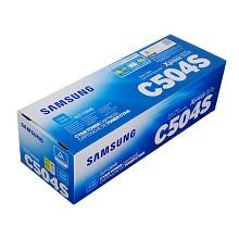 三星(SAMSUNG)CLT-C504S 青色墨粉盒 适用型号:CLP-415N CLX-4195N/4195FN 十五天质保