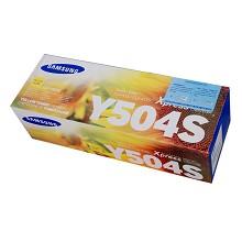 三星(SAMSUNG)CLT-Y504S 黄色粉盒 使用机型:CLP-415N CLX-4195N/4195FN 十五天质保