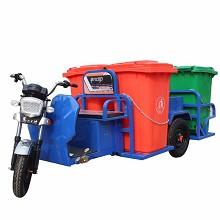 金苛 环卫电动四桶垃圾车 保洁清洁电瓶车 辆