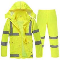 谋福  8010 分体雨衣雨裤套装交通执勤雨衣 套