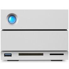 LaCie 8TB Type-C/雷电3 USB3.1 DP端口 USB3.0 CF卡槽 SD卡槽 磁盘阵列 2big Dock 存储坞站