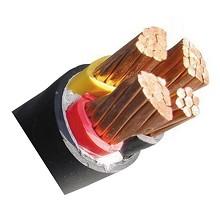 泰锐-1KV低压动力铜芯电力电缆-ZR-YJV-0.6/1KV-4*4