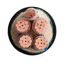 泰锐-1KV低压动力铜芯铠装电力电缆-ZR-YJV22-0.6/1KV-4*10+1*6