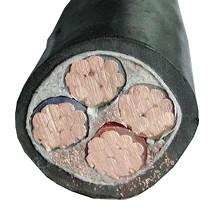 泰锐-1KV低压动力铜芯铠装电力电缆-ZR-YJV22-0.6/1KV-3*300+1*150
