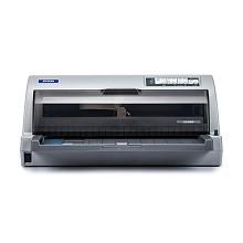 爱普生(EPSON)LQ-106KF 24针106列A4平推针式打印机 1+6联复写 不支持网络打印功能 248字符/秒 适用色带:色带架 S015555/色带芯 S010079 一年保修