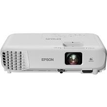 爱普生(EPSON)CB-S05 投影仪 3200流明 3LCD显示技术 手动变焦 800*600dpi 整机两年保修 灯泡半年保修