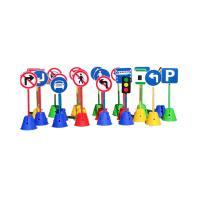 美尔(MR)幼儿园晨检牌 新款交通游戏 塑胶材质 14个/组