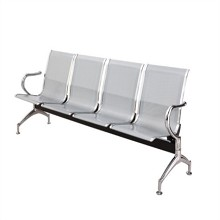 安睦 四人位排椅 不锈钢材质