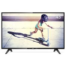 飞利浦(PHILIPS)43PFF3212/T3 43英寸液晶电视机 不支持无线连接 1920x1080分辨率 LED显示屏 二级能效 配挂架 含安装 一年保修 黑色