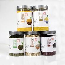 赊乡风味 原生态杂粮 绿豆500g*2罐+小米500g*2罐+玉米糁500g*2罐+大薏米500g*2罐+红豆500g*2罐=5000g 礼盒装