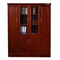 腾新 四门书柜 贴木皮 2米高*深40*宽45