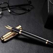 人民文创 《英雄1949》纪念版钢笔 精制钢笔 黑色笔身 金色笔帽(附赠1949年10月1日《人民日报》复制版和历届天安门阅兵明信片)1支/套