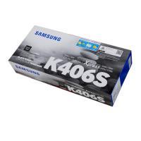 三星(SAMSUNG)CLT-K406S 黑色墨粉盒 适用型号CLP-366/366w CLX-3306/3306W/3306FN