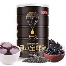 燕之坊 450g 芝麻桑椹奇亚籽粉(黑八宝禅食) 450g/罐 单罐