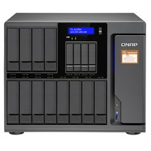 威联通(QNAP)TS-1635AX 商用级NAS网络存储 4G 十六盘位 四核处理器 内建2个10GbE SFP+ 网络端口
