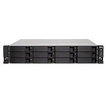 威联通(QNAP)TS-1232XU NAS磁盘阵列网络存储器 四核CPU 双电源 机架式 12盘位