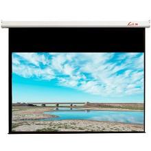 莱特斯(Lts)120英寸电动(16:10)遥控电动投影幕 白塑材质