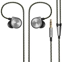 漫步者(EDIFIER)H297 耳机 旗舰入耳式有线音乐手机耳机 单条 黑色