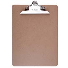 广博(GuangBo)A26118 板夹 A4书写板夹1个 棕色