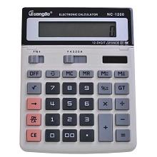 广博(GuangBo)NC-1200 计算器 桌上型计算器1台 灰色