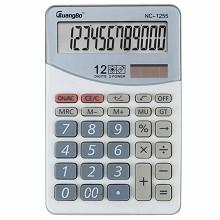 广博(GuangBo)NC-1255 计算器 桌上型计算器1台 白色